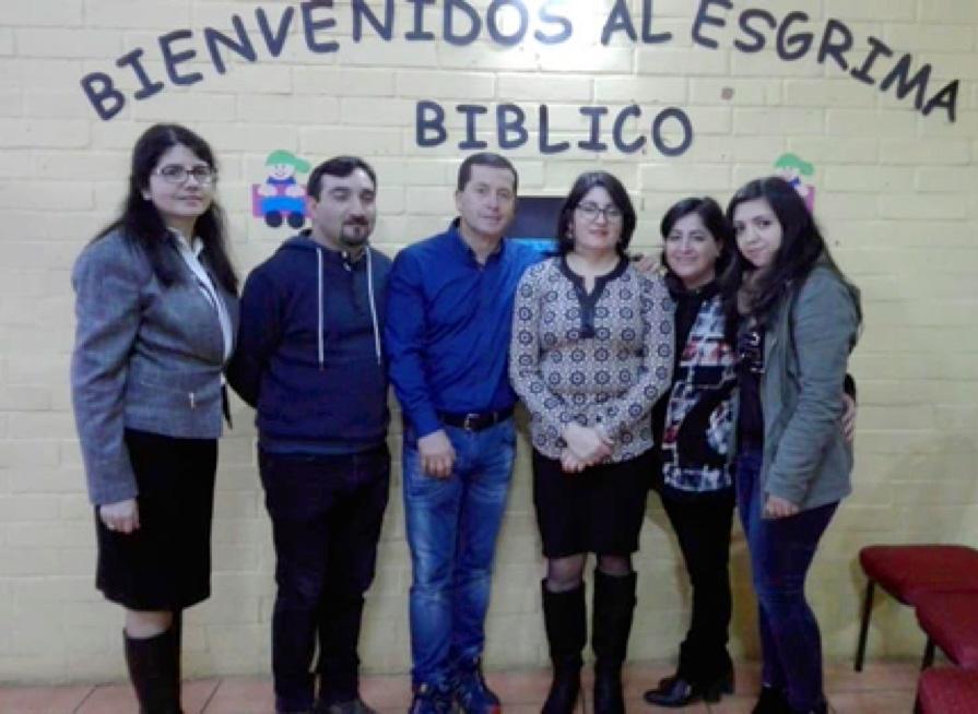 QUIZ BÍBLICO INFANTIL NO CHILE
