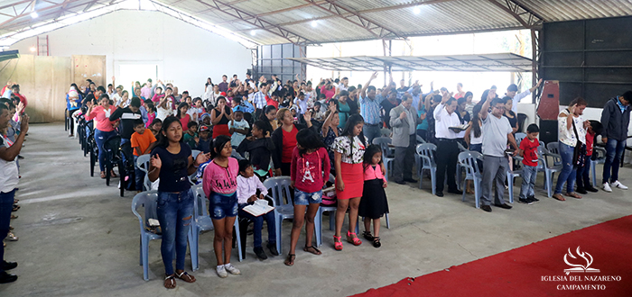 THANKSGIVING SERVICE 2018 IN CAMPAMENTO CHURCH