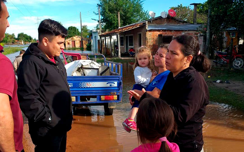FLOODS IN PARAGUAY
