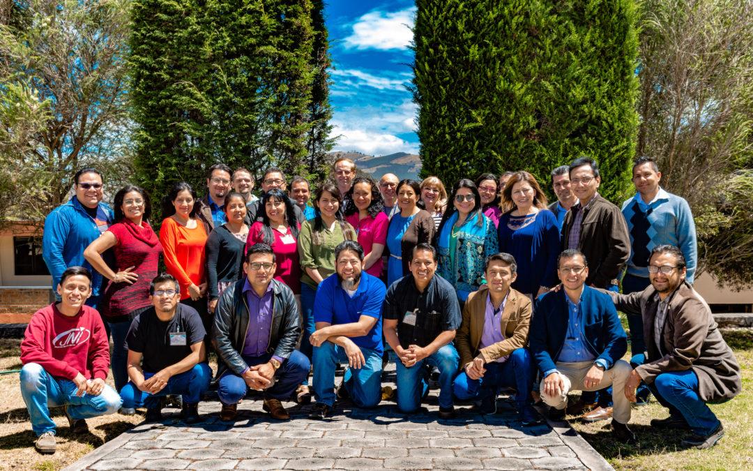 AUTHOR'S WORKSHOP IN ECUADOR