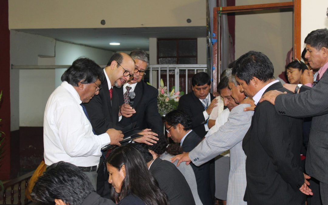 NEW ELDERS ORDAINED IN PERU