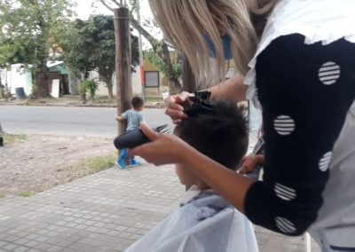 cortando el pelo 2