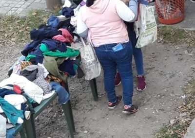 repartir ropa