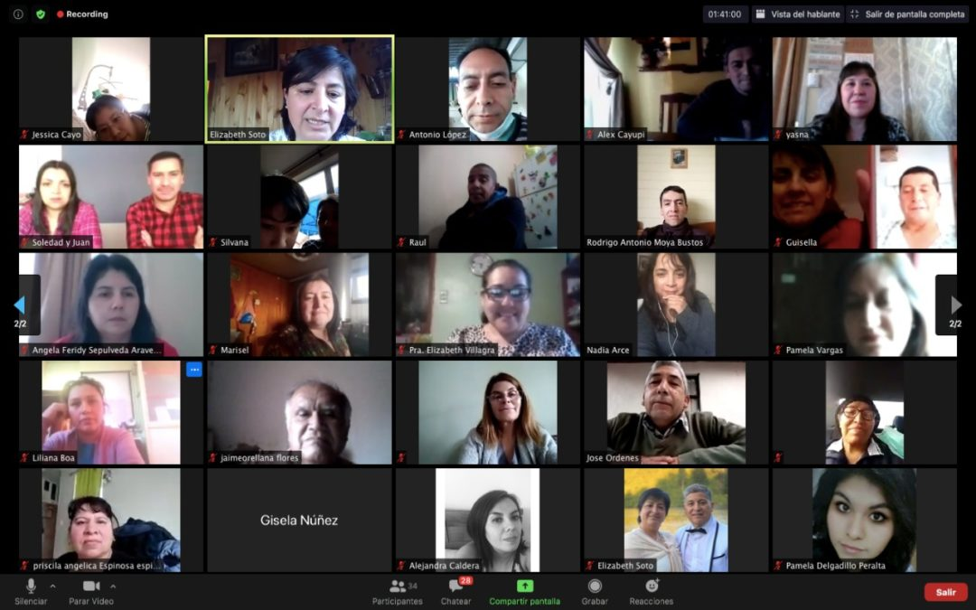 SDMI TRAINS 70 LEADERS IN CHILE