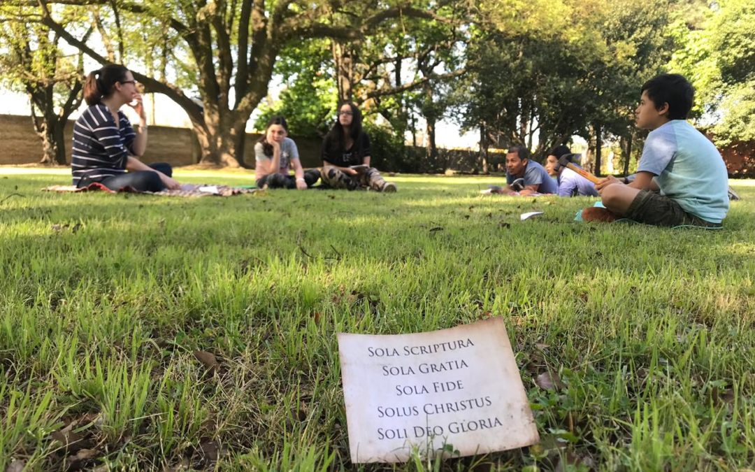 SOUTH AMERICA MISSIONARY CHILDREN CELEBRATE REFORMATION DAY